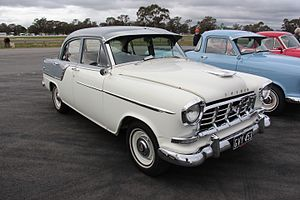 Holden - Holden's FC series was the first to be tested at the Lang Lang proving ground.