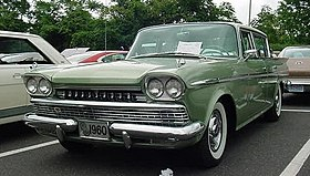 1960 AMC Rambler Ambassador sedan green NJ.jpg