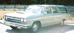English: 1965 Ranbler Classic 660 station wago...