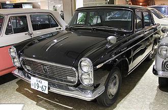 Isuzu Bellel - A late (1967) Bellel, after its facelift