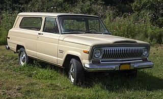 Jeep Cherokee (SJ) Motor vehicle