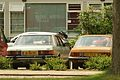 1982 Ford Granada 2.3 GL & 1979 Opel Ascona B Automatic (8878293353).jpg