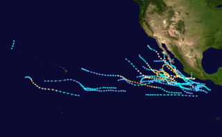 1984 Pacific hurricane season hurricane season in the Pacific Ocean