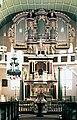 19850706625NR Dermbach Ev Kirche Heilige Dreifaltigkeit Altar Orgel.jpg