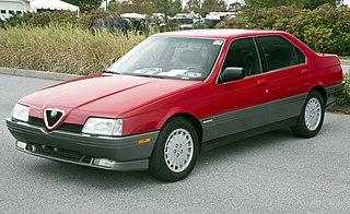 Alfa Romeo 164 Motor vehicle