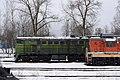 2ТЭ10У-0446, Россия, Брянская область, база запаса Унеча (Trainpix 188966).jpg