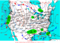 2004-02-25 Surface Weather Map NOAA.png