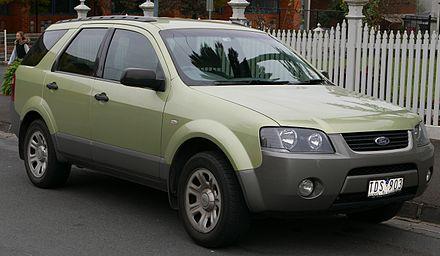 Ford Territory (Australia) - Wikiwand
