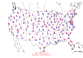 2006-07-08 Max-min Temperature Map NOAA.png