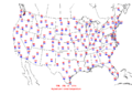 2006-07-11 Max-min Temperature Map NOAA.png
