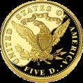 2006 San Fran Gold $5 prf rev.png