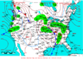 2007-02-25 Surface Weather Map NOAA.png