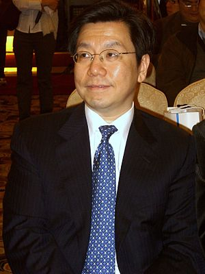 Kai-Fu Lee - Lee at the 2007 Google Taiwan Press Conference