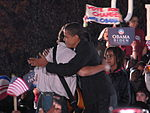 20081102 Bruce Springsteen and Barack Obama hug.JPG