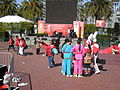 2008 Olympic Torch Relay in SF - Justin Herman Plaza 83.JPG