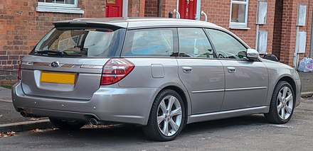 Subaru Legacy (fourth generation) - Wikiwand