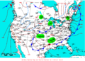2009-05-10 Surface Weather Map NOAA.png