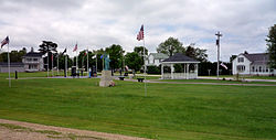 Veterans park in Lawler