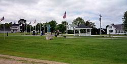Veterans park in Lawler