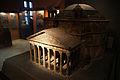 2011-03-26 Aschaffenburg 047 Korkmodell von Carl Joseph May, Das Pantheon (6091360972).jpg