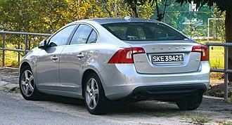 Volvo S60 - Pre-facelift Volvo S60 T4 (SG)