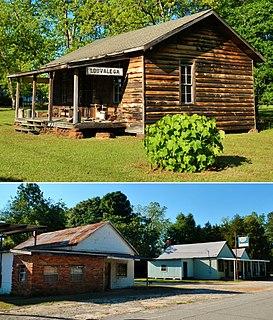 Louvale, Georgia Unincorporated community in Georgia, United States