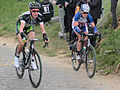2012 Ronde van Vlaanderen, Judith Arndt & Kristin Armstrong (7037950313).jpg