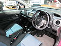 2012 Toyota Yaris (NCP131R) ZR 3-door hatchback (2012-10-26) 03.jpg