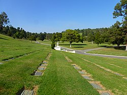 2013 - View N from East of the Great Mausoleum, Forest Lawn Memorial Park, Glendale, CA - panoramio.jpg