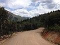 2014-06-24 13 52 39 View north along Elko County Route 748 (Charleston-Jarbidge Road) about 18.3 miles north of Charleston, Nevada.jpg