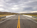 2014-09-08 16 48 03 View north along Nevada State Route 305 (Austin-Battle Mountain Road) crossing the Reese River about 20.7 miles north of U.S. Route 50 in Lander County, Nevada.JPG