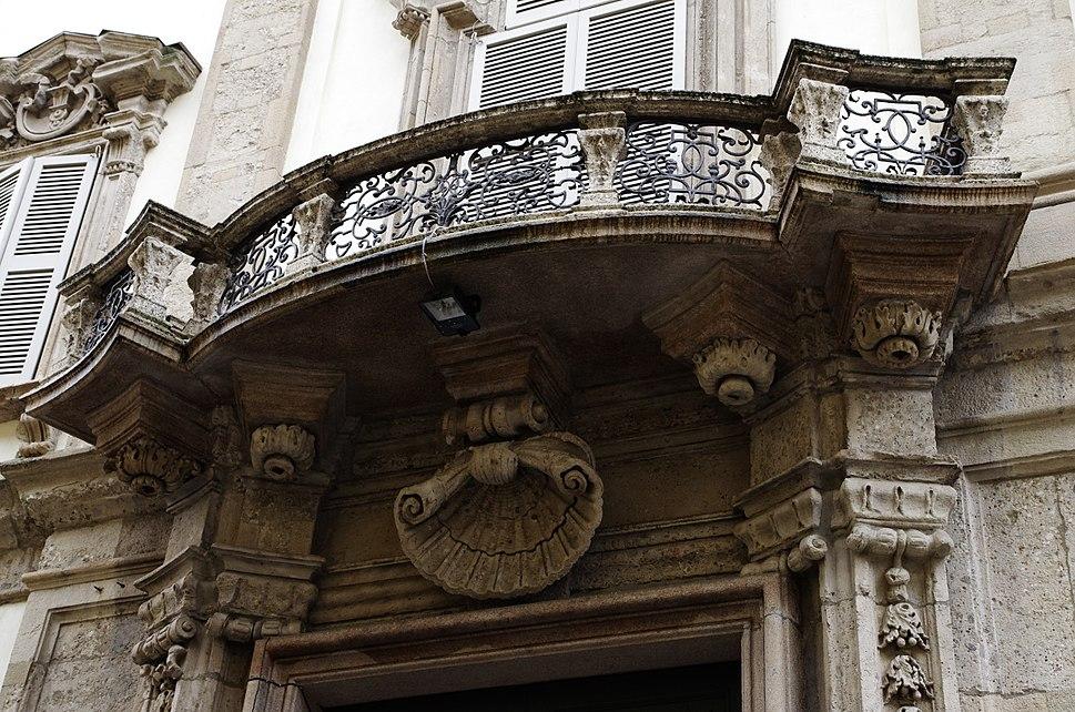 2014 02 13 14 13 13 Milano ITALY Palazzo Cusani balcone balcon photo Paolo Villa FOTO3970
