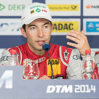 2014 DTM HockenheimringII Mike Rockenfeller by 2eight 8SC5363.jpg