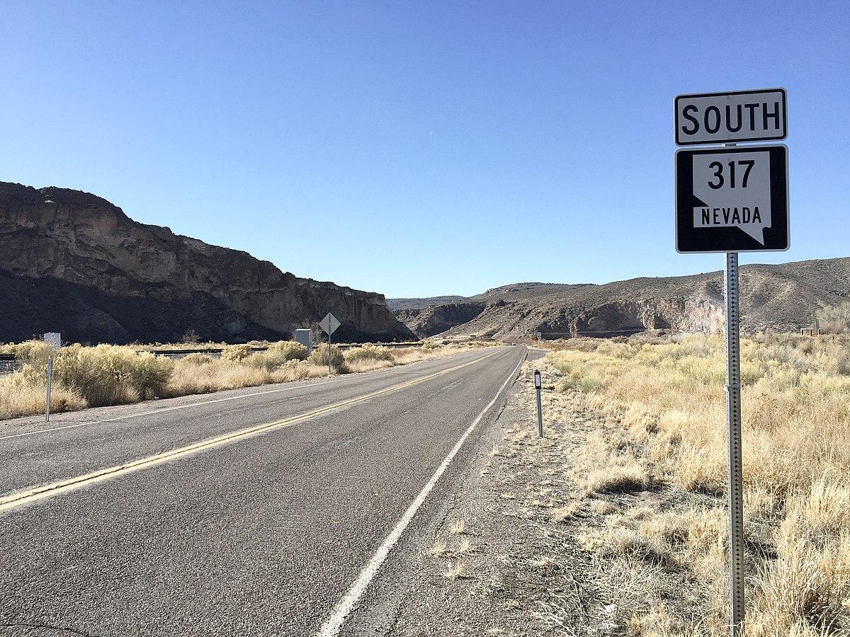 Nevada State Route 317 Wikipedia