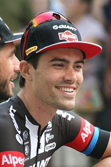 2015 Tour de France team presentation, Tom Dumoulin.jpg