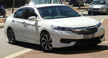 Facelift Honda Accord Vti Australia
