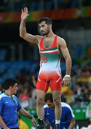 Omid Norouzi - Omid Norouzi at the 2016 Summer Olympics