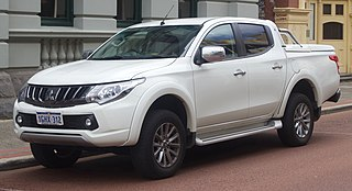 Mitsubishi Triton Motor vehicle