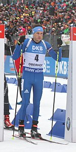2018-01-06 IBU Biathlon World Cup Oberhof 2018 - Pursuit Men Tim Burke cropped.jpg