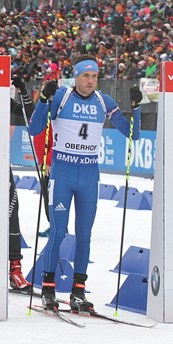 Tim Burke in Oberhof 2018