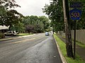2018-07-22 17 23 37 View south along Bergen County Route 503 (Kinderkamack Road) at Magnolia Avenue in Montvale, Bergen County, New Jersey.jpg