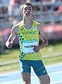 2018-10-16 Stage 2 (Boys' 400 metre hurdles) at 2018 Summer Youth Olympics by Sandro Halank–033.jpg