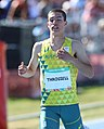 2018-10-16 Stage 2 (Boys' 400 metre hurdles) at 2018 Summer Youth Olympics by Sandro Halank–034.jpg