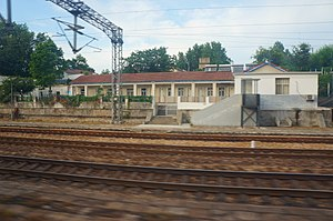 201806 Station Building of Bianzhuang Station.jpg