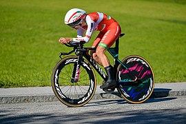 20180925 UCI Road World Championships Innsbruck Women Elite ITT Alena Amialiusik 850 9132.jpg