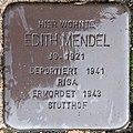 2018 08 13 Stolpersteine Straelen Mendel Edith.jpg