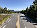 2019-10-11 11 43 05 View east along U.S. Route 211 (Lee Highway) from the overpass for Virginia State Route 48 (Skyline Drive) at Thornton Gap within Shenandoah National Park on the border of Page and Rappahannock Counties in Virginia.jpg