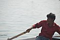 2019 Jan 16 - Kumbh Mela - Portrait of a Boatman Paddling.jpg