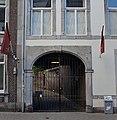 2019 Maastricht, Brusselsestraat 60, toegangspoort Cellebroedersstraat.jpg
