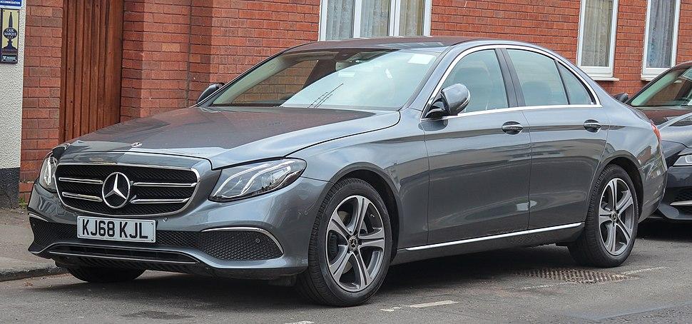 2019 Mercedes-Benz E220d SE Automatic 2.0 Front